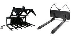 Compact Utility Loader Attachments